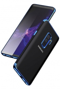 Etui Blue Hybrid Samsung Galaxy A6+ Plus