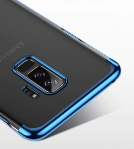 Etui Blue Hybrid Samsung Galaxy S9+ Plus