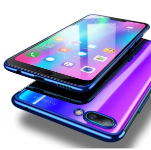 Etui Blue Hybrid Honor 10 Lite