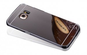 Etui Mirror Case Samsung Galaxy S7 Edge Czarny